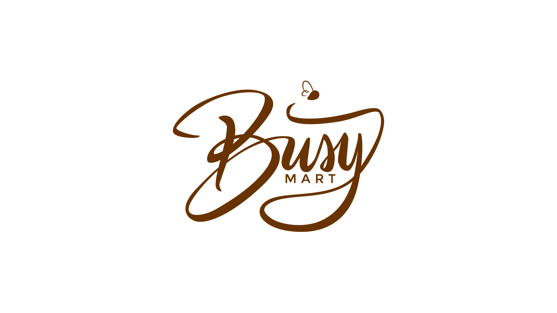 Busy Mart logo by Dustin Drake