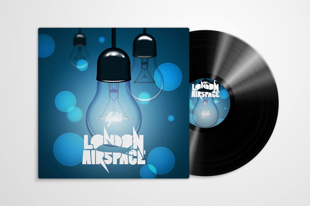London Airspace's Lights Album Artwork by Dustin Drake